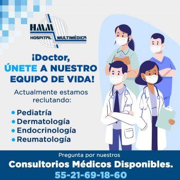 Renta consultorios Torre Medica HMM 2021 2
